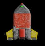 Minabago 5 Ton Space Plane 12 Scarred