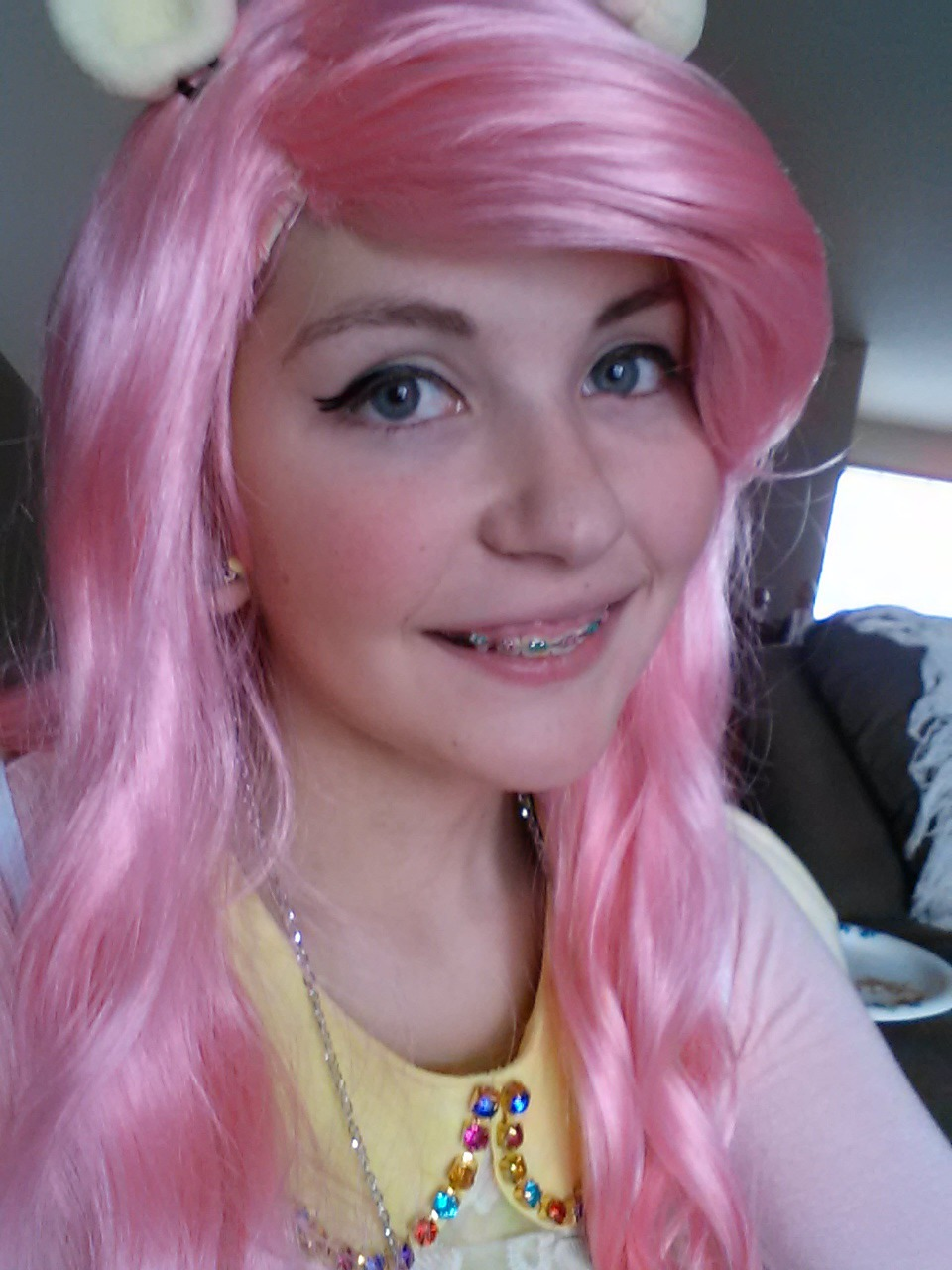 Fluttershy with Braces (Cosplay)