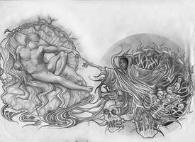 tattoo design by teardroptitan