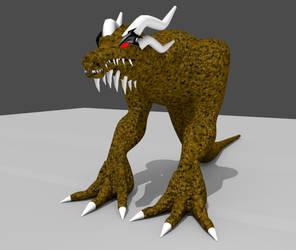 The Boss Monster WIP by Dinokaiser