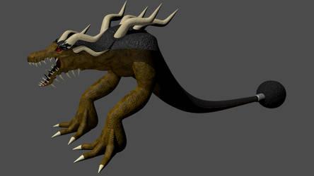Boss monster finalized by Dinokaiser