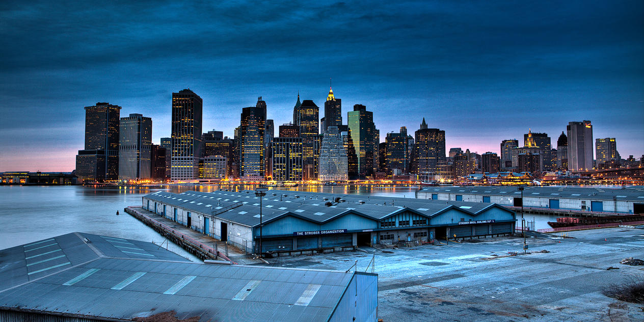 Lower manhattan HDR 02 by sp1te