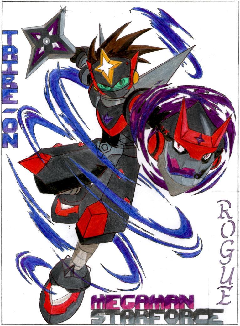 megaman star force 2 zxn rogue ninja by darkstarx96 on
