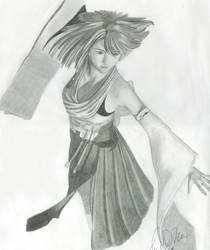 Summoner Yuna- Final Fantasy X by Honest2481