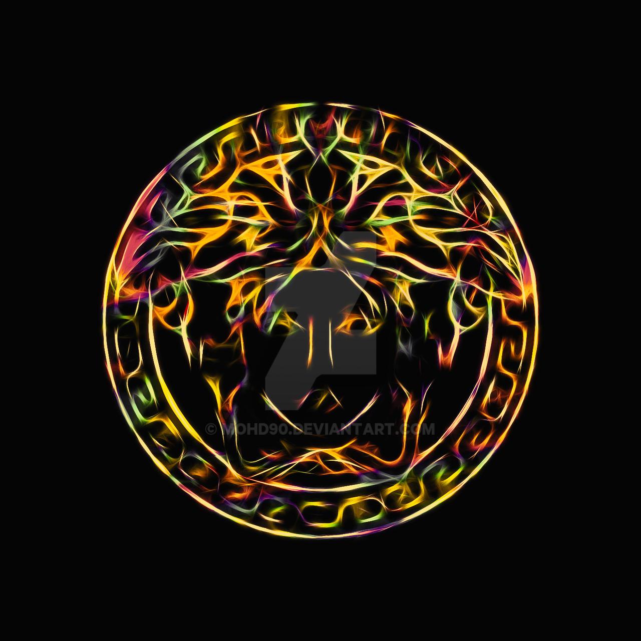 Versace Logo Wallpaper Black And Gold