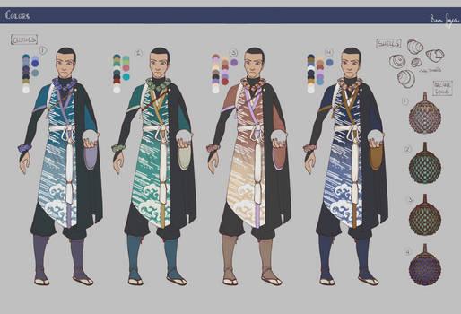 Sorcerer: Final Design/Color Tests