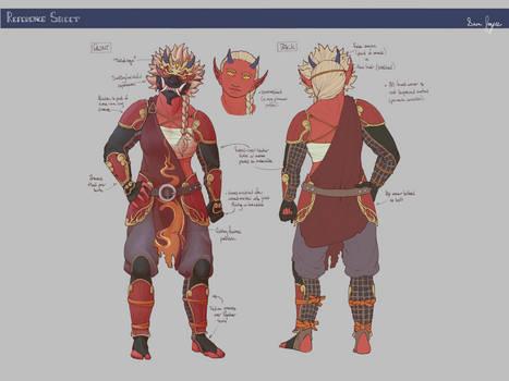 Monk: Reference Sheet