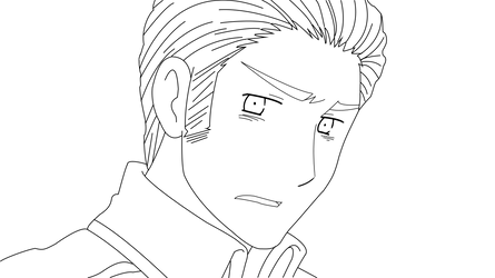 Germany -lineart- I by fourstardragonball