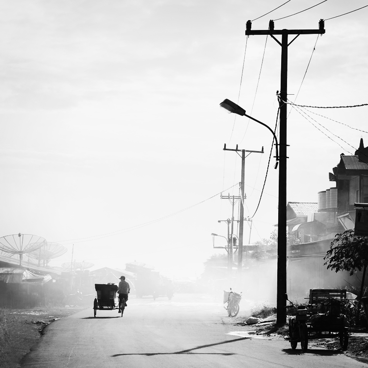 rickshaw by Hengki24