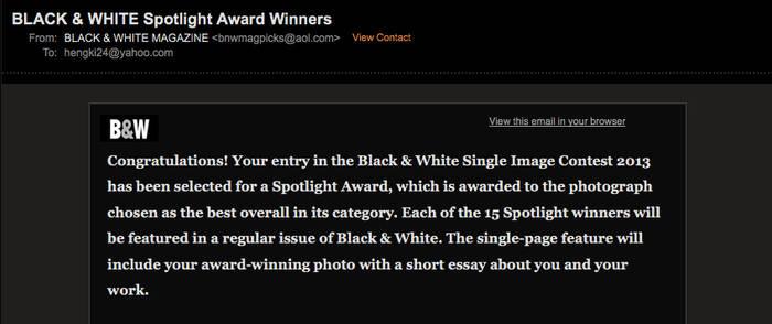 BW Magazine Award