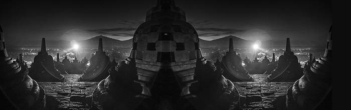 Borobudur by Hengki24