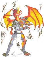 Sun Dragon Rising Tf by Ageaus