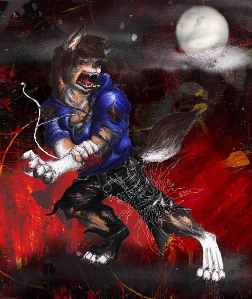 Werewolf TF - by Arania by AuraGuardianHadou on DeviantArt
