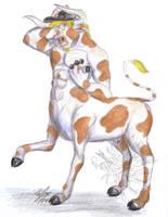 RyanR Minotaur-taur by Ageaus