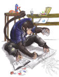 Monkeyin around in the Studio