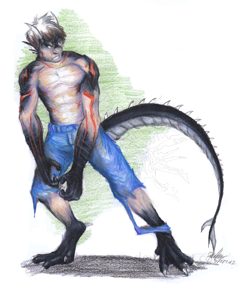 Myan-Dragon'd Commission 3 by Ageaus
