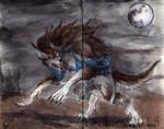 Inktober 28: Werewolf