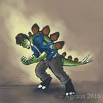 Patreonsketch: Jurassic Age