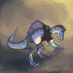 Patreonsketch: Kaneosaurus