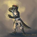Patreonsketch: Colinosaurus-Rex