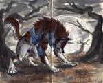 Inktober 29: Werewolf