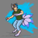 Patreonsketch: Corey-Ninetailed