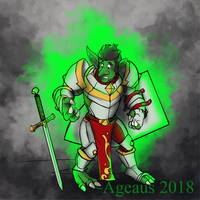 GOBLINWEEK DAY 7: PALADIN by Ageaus