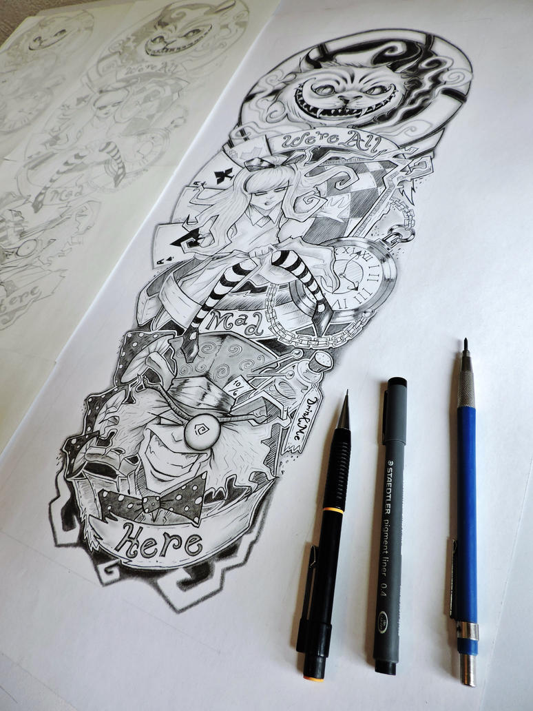 Designing A Sleeve Tattoo