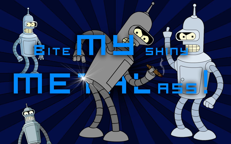 Futurama Bender Wallpaper by pvlimota