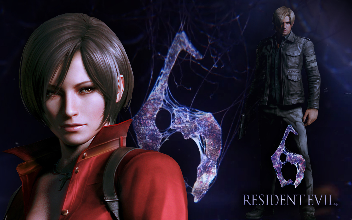 Ada And Leon Resident Evil 6 Wallpaper By Pvlimota On Deviantart