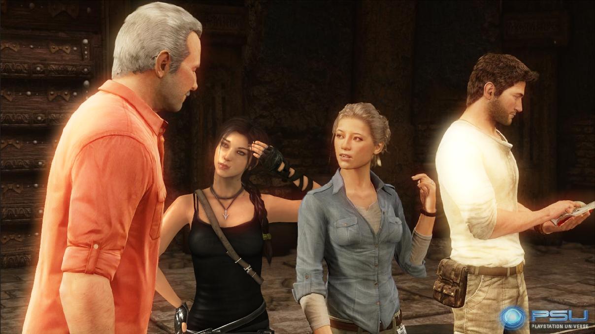 Lara Croft And Nathan Drake: Lara Croft And Nathan Drake: Puzzle By Bekri2 On DeviantArt