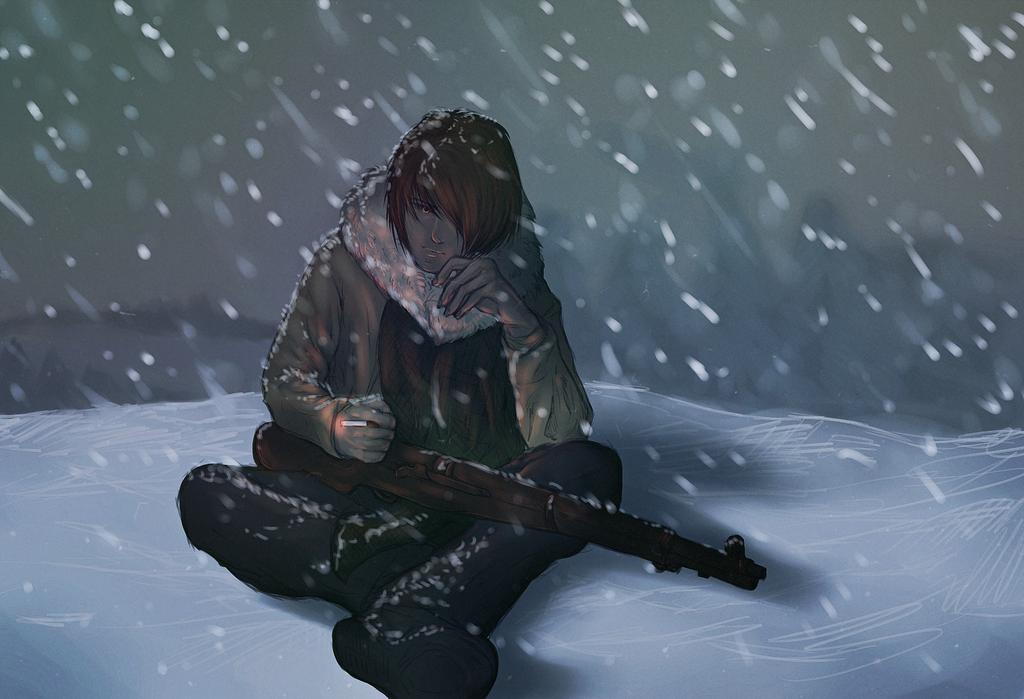 snowy by Kyumi-Die
