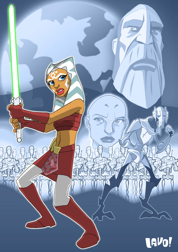 clone wars poster by mrlavo