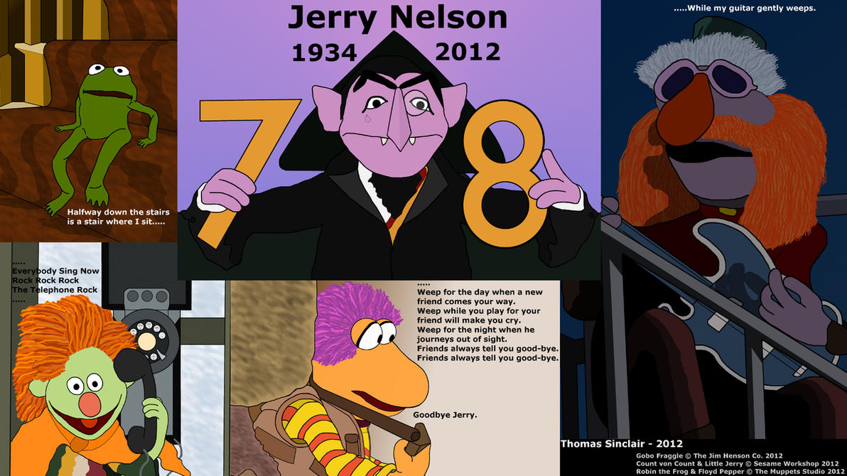 My Jerry Nelson Tribute Collage by TomFraggle on DeviantArt