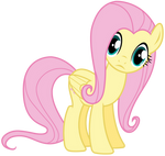 Fluttershy Looking At Us or You