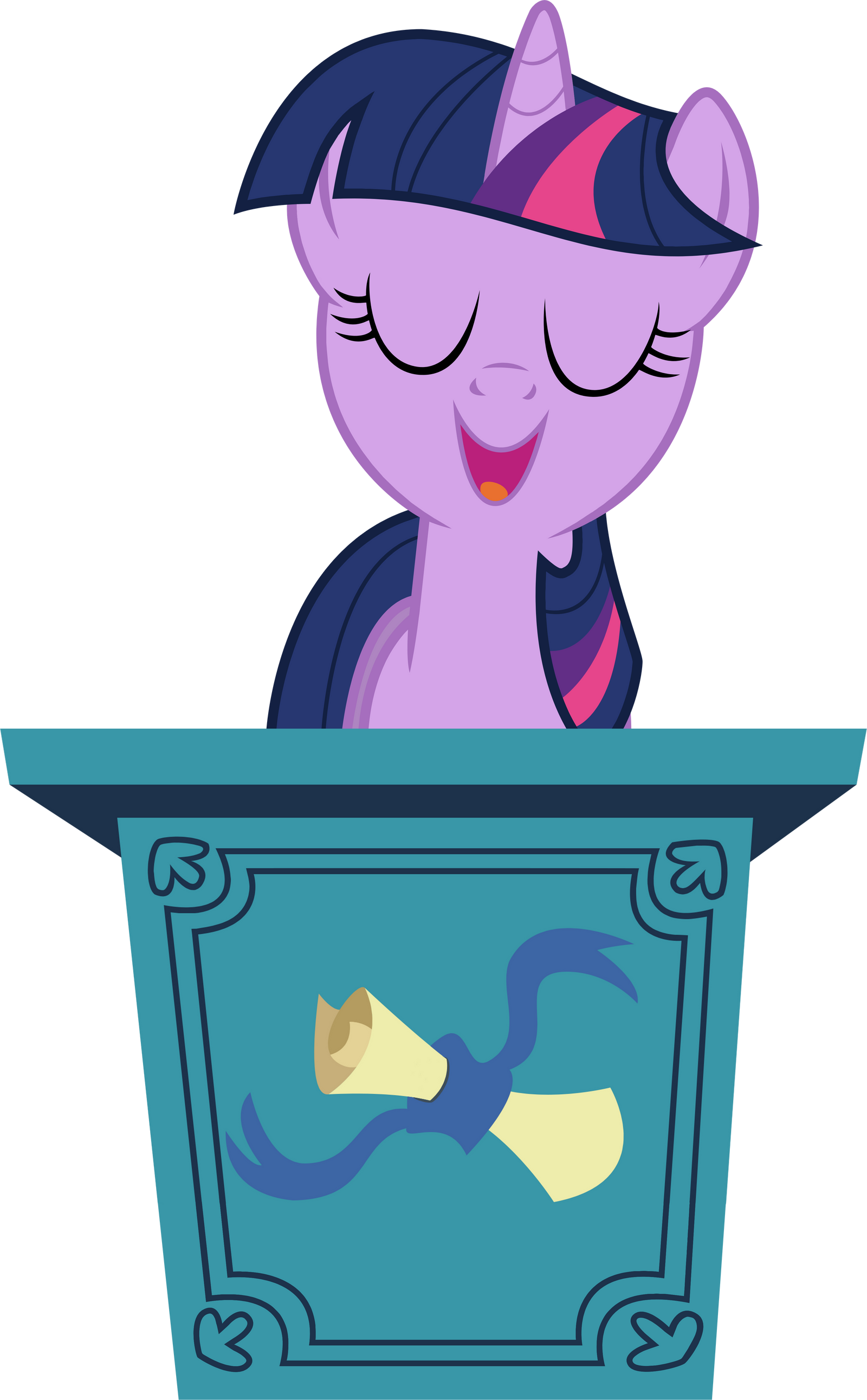 [Obrazek: podium___twilight_sparkle_by_tomfraggle-d7xc6wu.png]