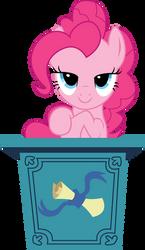 Podium - Pinkie Pie by TomFraggle