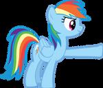 Rainbow Dash Hoof Bump