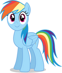 Rainbow Dash - Pegasus - Elements Of Harmony