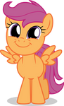 Scootaloo Is All Smiles