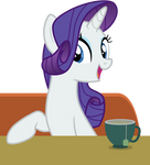 At The Diner With Rarity