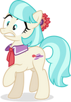 CoCo Miss Pommel Looking Startled