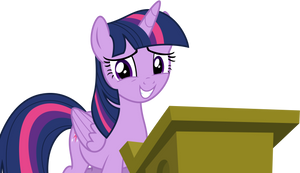 Twilight Speaking To The Crowd by TomFraggle