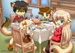 Family Thanksgiving - Little Tails