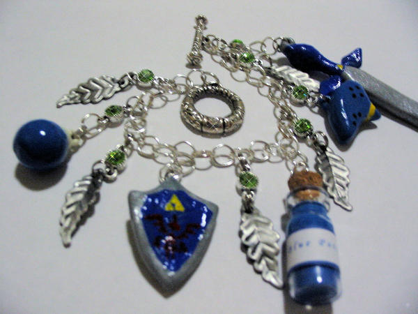 Legend of Zelda Bracelet by tiffanybell
