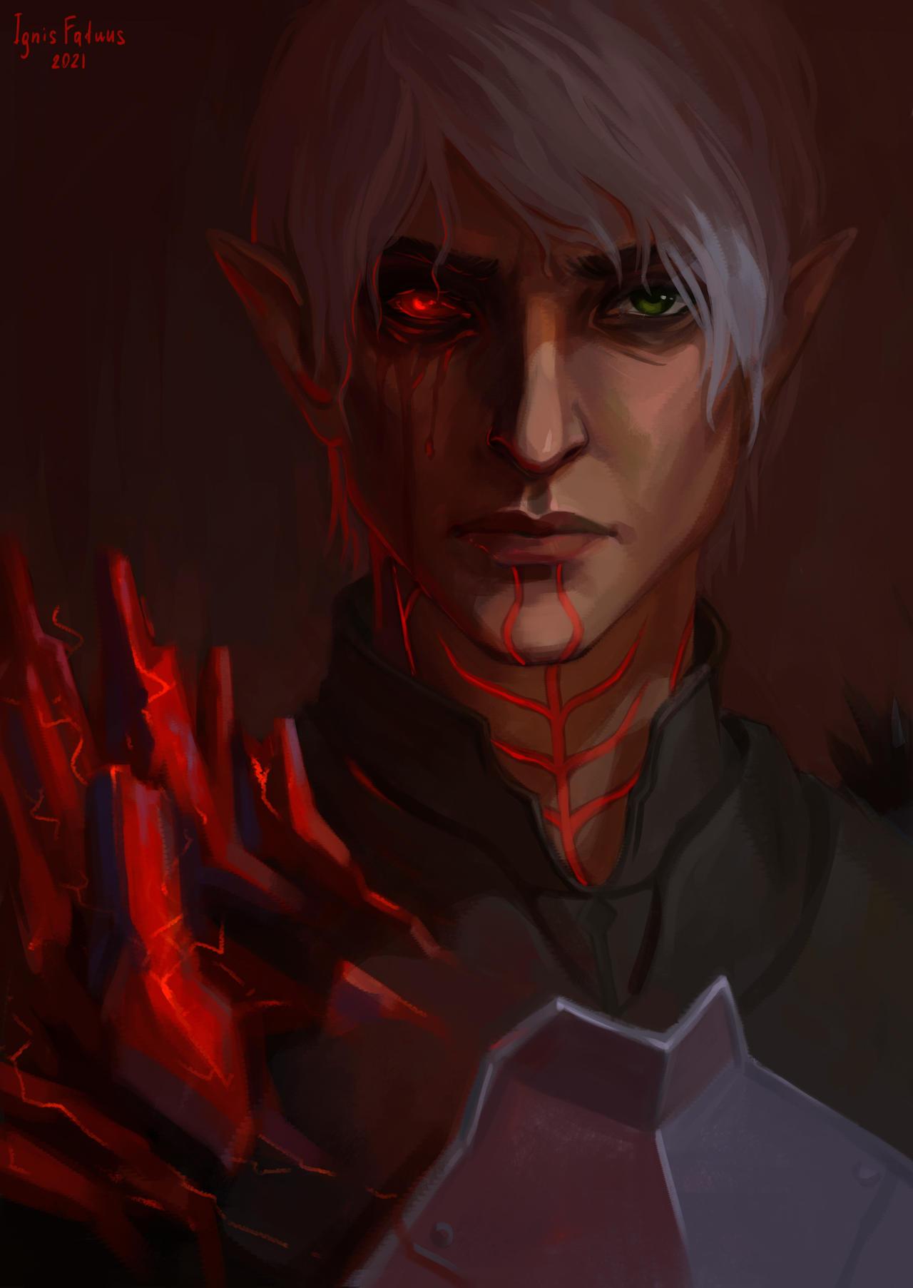 Red Lyrium Fenris