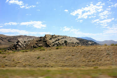 On the Road in Wyoming