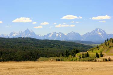Approaching Yellowstone
