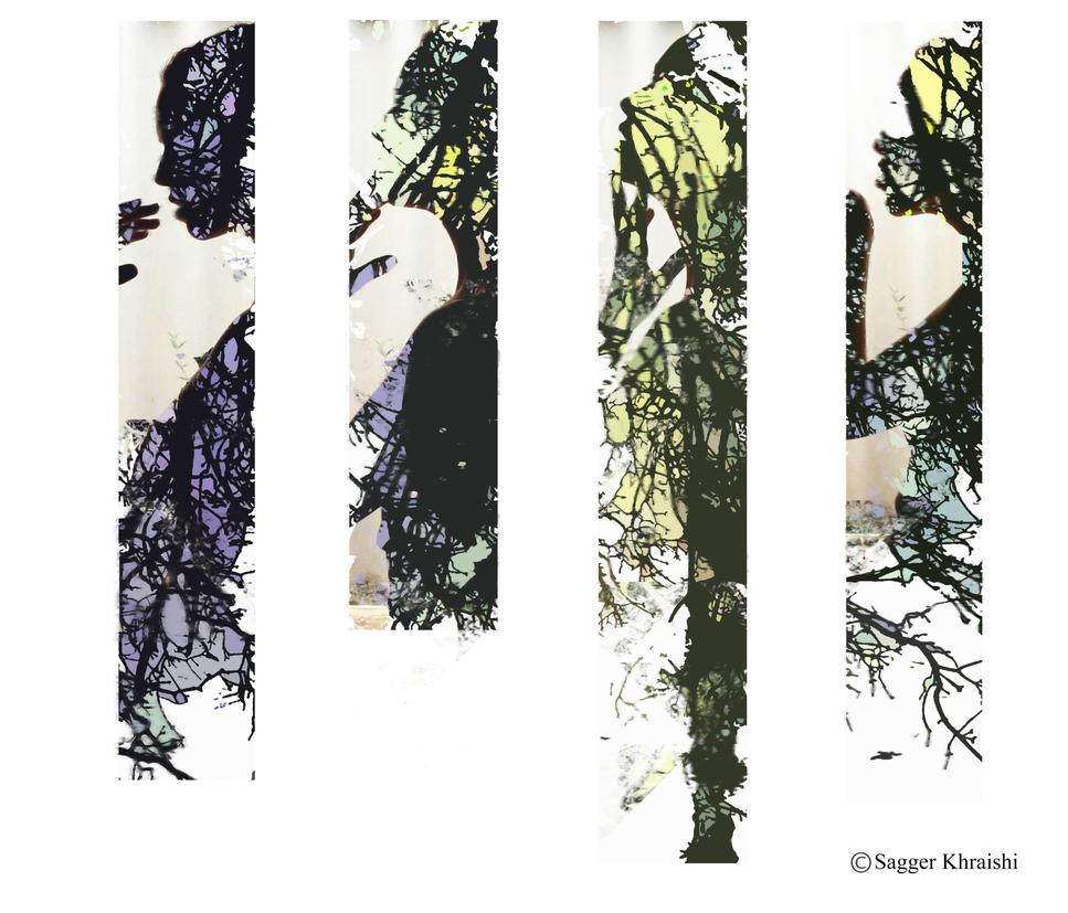 Kissing Trees by SaggerK