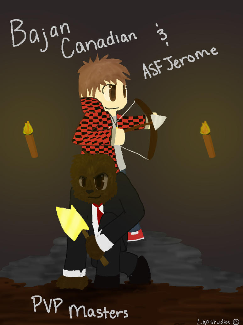 Bajancanadian And Jerome Fan Art Bajancanadian
